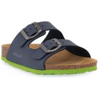 Topánky Sandále Grunland BLU LIME 40LUCE Blu