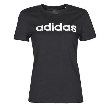 Oblečenie Ženy Tričká s krátkym rukávom adidas Performance WELINT Čierna