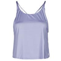 Oblečenie Ženy Tielka a tričká bez rukávov adidas Performance YOGA CROP Fialová
