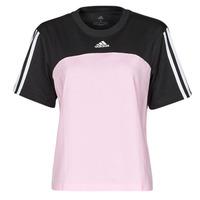 Oblečenie Ženy Tričká s krátkym rukávom adidas Performance WECBT Čierna