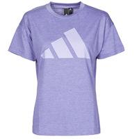 Oblečenie Ženy Tričká s krátkym rukávom adidas Performance WEWINTEE Fialová