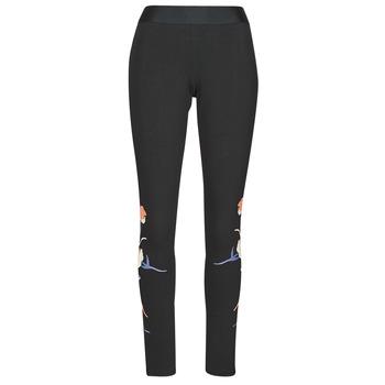 Oblečenie Ženy Legíny adidas Performance FLORL GFX TIGHT Čierna