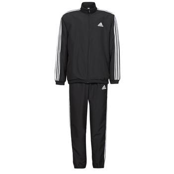 Oblečenie Muži Súpravy vrchného oblečenia adidas Performance M 3S WV TT TS Čierna