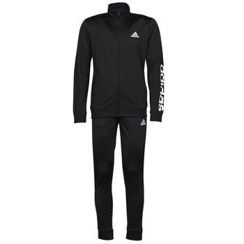 Oblečenie Muži Súpravy vrchného oblečenia adidas Performance M LIN TR TT TS Čierna