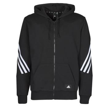 Oblečenie Muži Vrchné bundy adidas Performance M FI 3S FZ Čierna