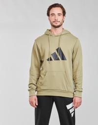 Oblečenie Muži Mikiny adidas Performance M FI 3B HOODIE Zelená