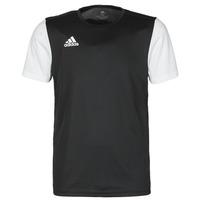 Oblečenie Muži Tričká s krátkym rukávom adidas Performance ESTRO 19 JSY Čierna