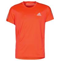 Oblečenie Muži Tričká s krátkym rukávom adidas Performance OWN THE RUN TEE Solar / Červená