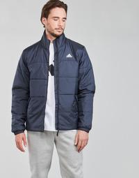 Oblečenie Muži Vyteplené bundy adidas Performance BSC 3S INS JKT Ink
