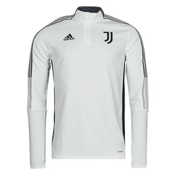 Oblečenie Vrchné bundy adidas Performance JUVE TR TOP Biela