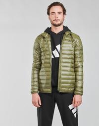 Oblečenie Muži Vyteplené bundy adidas Performance VARILITE JACKET Zelená olivová