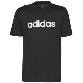 Oblečenie Muži Tričká s krátkym rukávom adidas Performance M LIN SJ T Čierna