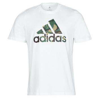 Oblečenie Muži Tričká s krátkym rukávom adidas Performance M CAMO T Biela