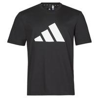 Oblečenie Muži Tričká s krátkym rukávom adidas Performance M FI 3B TEE Čierna