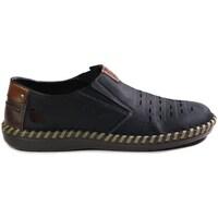 Topánky Muži Mokasíny Rieker B245714 Tmavomodrá
