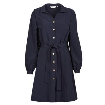Oblečenie Ženy Krátke šaty Naf Naf LAMARINETTE Námornícka modrá