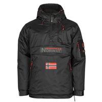 Oblečenie Muži Parky Geographical Norway BARKER Čierna