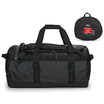 Tašky Cestovné tašky The North Face BASE CAMP DUFFEL - M Čierna / Biela