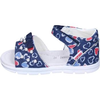 Topánky Dievčatá Sandále Enrico Coveri Sandále BJ982 Modrá