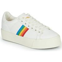 Topánky Ženy Nízke tenisky Gola ORCHID PLATFORM RAINBOW Biela / Viacfarebná