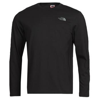 Oblečenie Muži Tričká s dlhým rukávom The North Face L/S EASY TEE Čierna