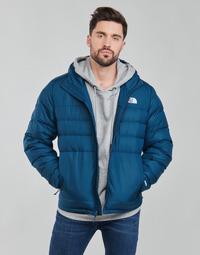 Oblečenie Muži Vyteplené bundy The North Face ACONGAGUA 2 HDIE Modrá
