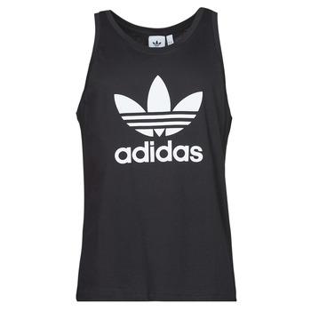 Oblečenie Muži Tielka a tričká bez rukávov adidas Originals TREFOIL TANK Čierna