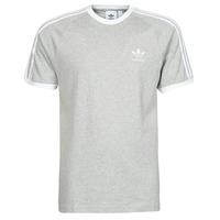 Oblečenie Muži Tričká s krátkym rukávom adidas Originals 3-STRIPES TEE Šedá / Medium