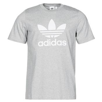 Oblečenie Muži Tričká s krátkym rukávom adidas Originals TREFOIL T-SHIRT Šedá / Medium