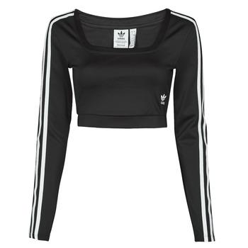 Oblečenie Ženy Tričká s dlhým rukávom adidas Originals LONG SLEEVE Čierna