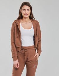 Oblečenie Ženy Mikiny adidas Originals CROPPED TT Hnedá