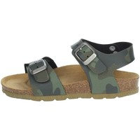 Topánky Deti Sandále Grunland SB1680-40 Dark Green