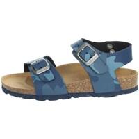 Topánky Deti Sandále Grunland SB1680-40 Blue