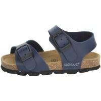 Topánky Deti Sandále Grunland SB0027-40 Blue