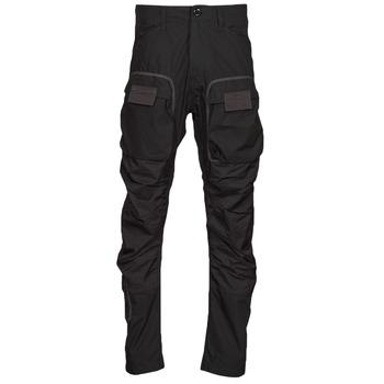 Oblečenie Muži Nohavice Cargo G-Star Raw 3D STRAIGHT TAPERED CARGO Čierna