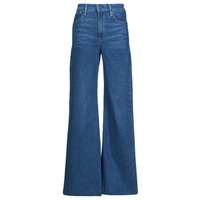 Oblečenie Ženy Rifle Bootcut  G-Star Raw DECK ULTRA HIGH WIDE LEG Modrá