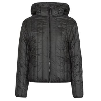 Oblečenie Ženy Vyteplené bundy G-Star Raw MEEFIC VERTICAL QUILTED JACKET Čierna