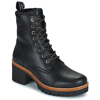 Topánky Ženy Polokozačky Panama Jack PADMA Čierna