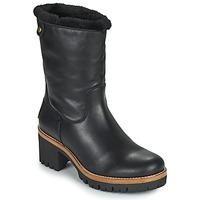 Topánky Ženy Polokozačky Panama Jack PIOLA Čierna