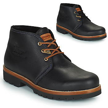 Topánky Muži Polokozačky Panama Jack BOTA PANAMA Čierna