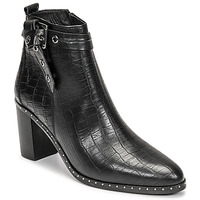 Topánky Ženy Čižmy do mesta Philippe Morvan BERRYS Čierna