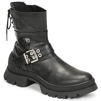 Topánky Ženy Polokozačky Philippe Morvan CAMIX Čierna