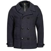Oblečenie Muži Kabáty Petrol Industries JACKET WOOL Modrá