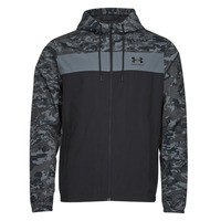 Oblečenie Muži Vetrovky a bundy Windstopper Under Armour UA SPORTSTYLE CAMO WNDBKR Čierna