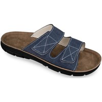 Topánky Muži Šľapky Mjartan Pánske papuče  JEANS tmavomodrá