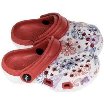 Topánky Dievčatá Nazuvky John-C Detské červené crocsy LILLI červená