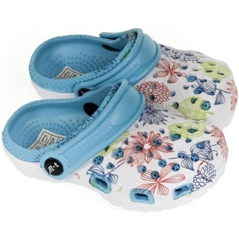 Topánky Dievčatá Nazuvky John-C Detské svetlo-modré crocsy LILLI svetlomodrá