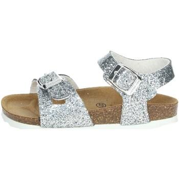 Topánky Dievčatá Sandále Grunland SB1656-40 Silver