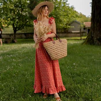 Oblečenie Ženy Dlhé šaty Céleste AURORE version courte Červená