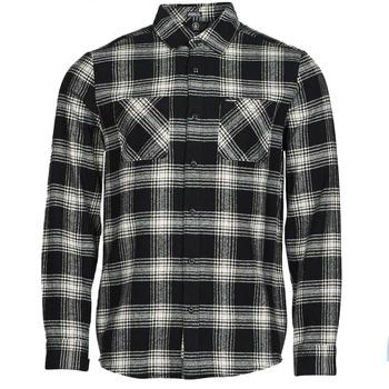 Oblečenie Muži Košele s dlhým rukávom Volcom TONE STONE L/S Čierna